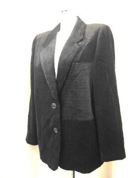 【TISANE】黒コーディロイジャケットです