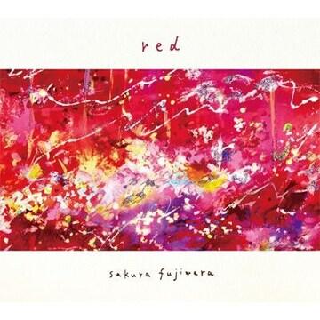 即決 藤原さくら red 初回限定盤 (CD+バンダナ) 新品
