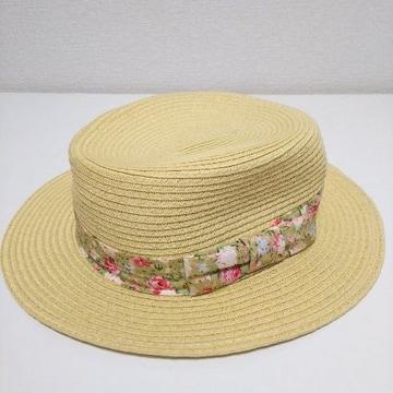 美品 Dip Drops 帽子 麦わら帽子