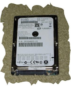 ◆富士通◆2.5インチHDD SATA 80GB NO.B1
