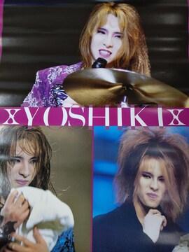 X JAPAN YOSHIKI ポスター 1989