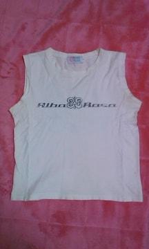 ALBA ROSA アルバ マイタネ ホワイトタンク ビックロゴ 激安 サイズ1