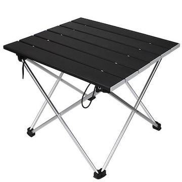 【ロールテーブル・キャンプ用品】アルミ製 アウトドアテーブル