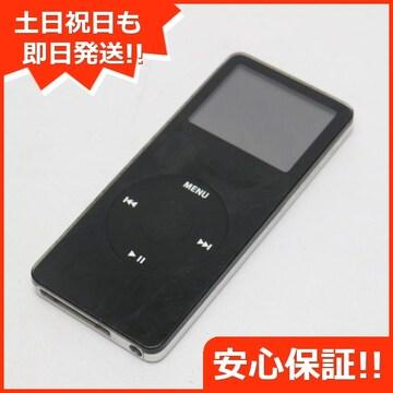●安心保証●良品中古●iPOD nano 第1世代 4GB ブラック●