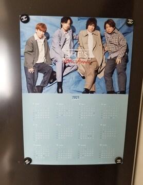 新品◆SHE'S ポスター 10th Anniv カレンダー 非売品 ノベルティ