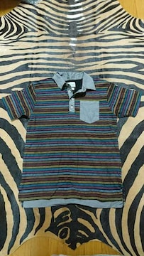 Men's ボーダーポロシャツ