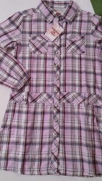 【新品タグ付】RUSH HOUR・150�pシャツワンピ