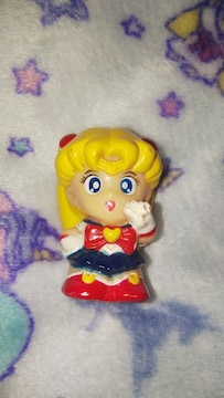 美少女戦士セーラームーンソフビ指人形当時物90年代月野うさぎ
