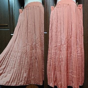 4L/新品☆プリーツスカート,パンツ付き