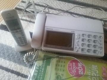 panasonic おたっくす 子FAX電話