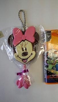 新品♪ミニーマウス☆ペロペロチョコキーホルダー☆値下げ