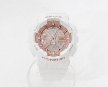 ベビージー 5338 クオーツ レディース時計 ウォッチ ホワイト【送料無料】