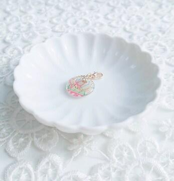 ゆめかわいい蝶々☆キラキラマスクチャーム