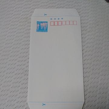 ポイント消化などに  郵便書簡 ミニレター 63円