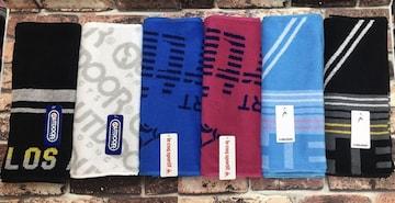 『6柄から2枚組』3種ブランド新柄ジャガードスポーツタオル