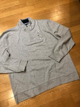 TOMMY HILFIGER◆Mock NeckSweatシャツ  超大きいsize 3XL