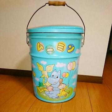 ムーミン 缶 クッション スツール イス いす 椅子 昭和 レトロ