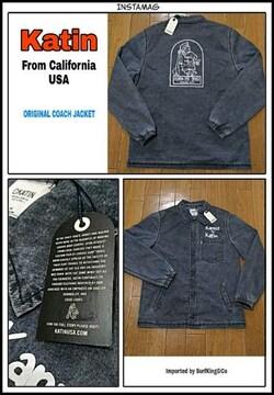 Katin最新コーチジャケット本物USA直輸入モデル!限定特価SALE!
