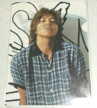 SMAP 木村拓哉★クリアファイル