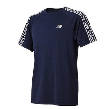 新品ニューバランスNew BalanceカットソーM紺スポーツTシャツ