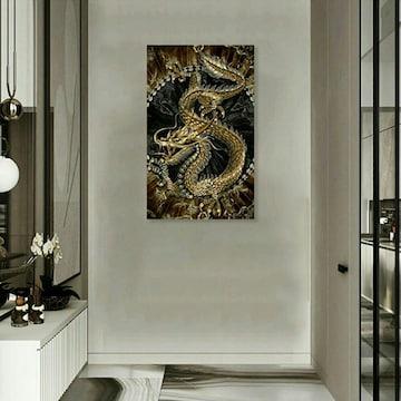 龍 ドラゴン ポスター 風水