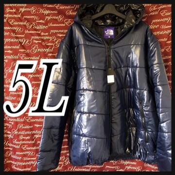 5L・中綿入りフェイスダウンジャケット新品/MC03P-110