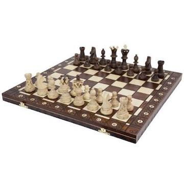 バカ売れ!大盤木製チェスセット53cmチェス盤チェス駒セット