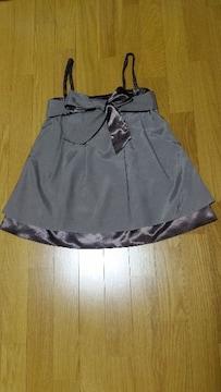 ラストシーン リボン付きキャミソール(2wayスカート)