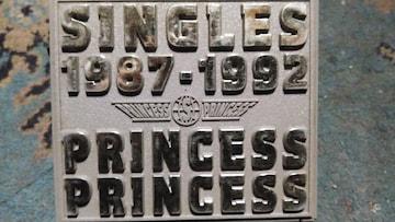 プリンセスプリンセス シングルス87-92 ベスト 初回