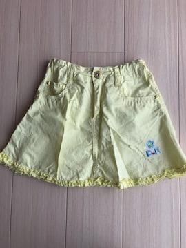 美品 ポモナキッス スカート キッズ 140