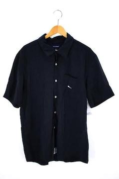 DESCENDANT(ディセンダント)刺繍オープンカラーシャツシャツ