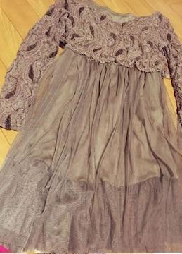 ワンピ ドレス セクシー レース 刺繍