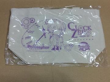 【CLOCK ZERO(クロック ゼロ)】A賞:ランチトートバック《哲学者/終夜》