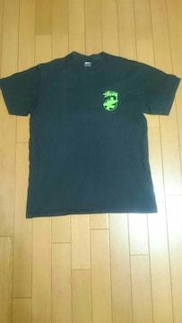 STUSSY  サーフマンTシャツ