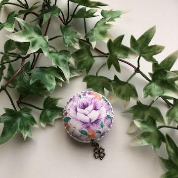 ハンドメイド  花柄 メジャー マカロンメジャー 裁縫道具 巻尺