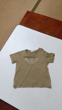 (a.v.v)カーキ色Tシャツ