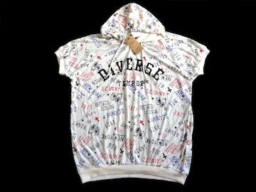 新品 galyge 総柄 BIG Tシャツ パーカー L ゆったり