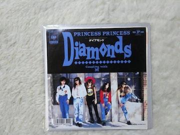 シングルレコード プリンセスプリンセス ダイアモンド '89/4 ソニーCT CM曲 プリプリ