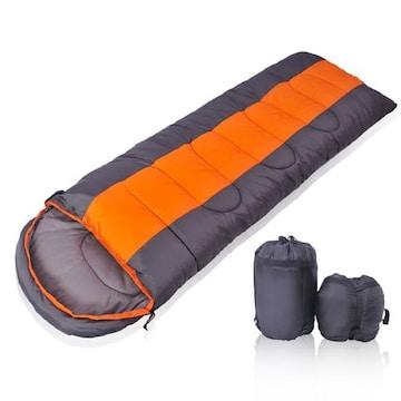 高級ダウン寝袋 封筒型 軽量 コンパクト 丸洗い