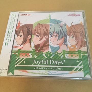 【新譜】Joyful Days! ときめきアイドル
