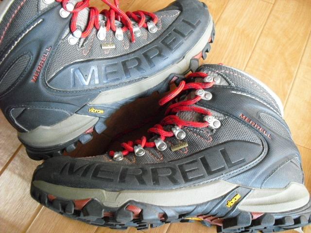 MERRELL メレル ゴアテックス トレッキングブーツ 29  < ブランドの