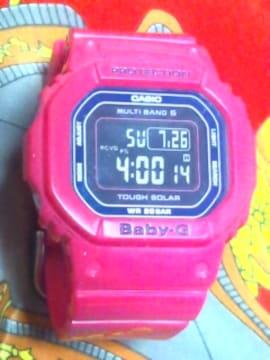 カシオGショックBABY-Gピンクタフソーラー電波腕時計BGD-5000定19800円