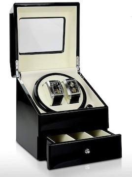 腕時計収納ケース付 マブチモーター(ブラック)