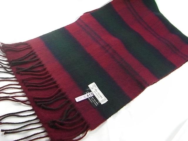 スコットランド製davinson カシミアxウールマフラー < 男性ファッションの