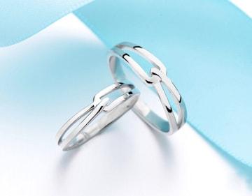 ☆指輪 ペアリング シンプル☆フリーサイズ 男女兼用