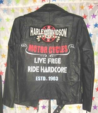 ハーレーダビッドソン HARLEY DAVIDSON 牛皮 M