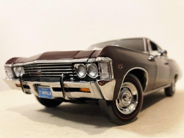 Ertlアーテル/'67 Chevyシボレー Impalaインパラ 1/18  < ホビーの