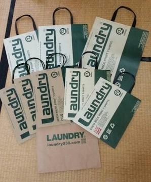 新品同様 laundry ランドリー  ショップ袋