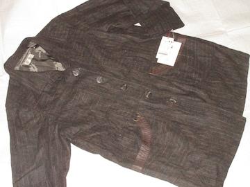 未使用タグ付☆高級素材*毛入りジャケット*長袖レディース