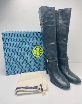 X129 美品★ トリーバーチ ロングブーツ 靴 9 1/2 M